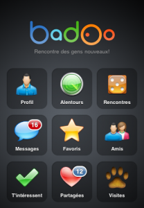 Badoo en el iPhone